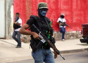 Autodefensas on patrol in Tierra Caliente