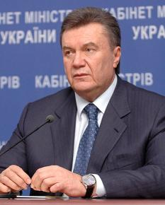 Ukraine President Viktor Yanukovich