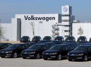 The Volkswagen plant in Chattanooga