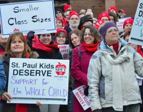 St. Paul teachers take a stand for their public schools