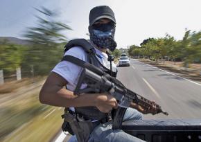 Autodefensas on patrol in Michoacán