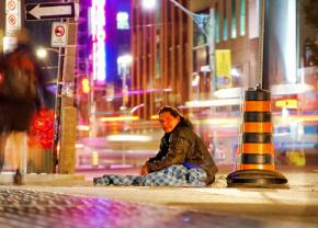 Living on the streets in one of the world's wealthiest cities