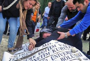 Loved ones mourn the loss of the miners in the Soma disaster