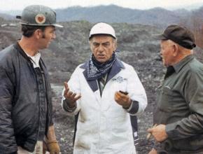 United Mine Workers reform candidate Jock Yablonski (center)