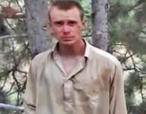 Bowe Bergdahl while a prisoner in Afghanistan