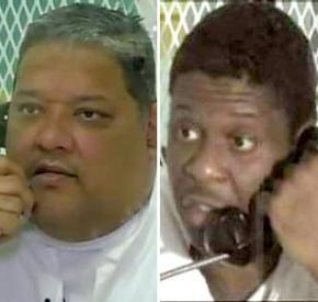 Luis Castro Perez (left) and Rodney Reed