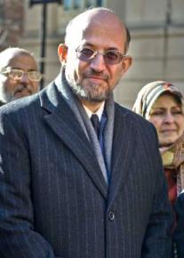 Dr. Sami al-Arian attending a recent court date