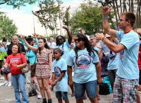Badass Teachers Association leads a march for education justice in Washington, D.C.