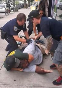 New York police were captured on video in the act of killing Eric Garner