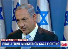 Benjamin Netanyahu appears on CNN