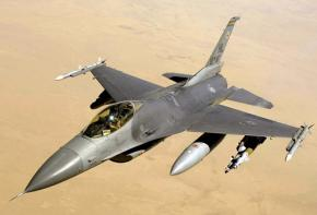 A US war plane flying over Iraq