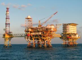 A Pemex oil platform