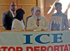 The family of Wahud Mohammed speaks out against his deportation