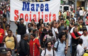 A Marea Socialista Youth march