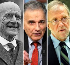 Eugene V. Debs, Ralph Nader and Howie Hawkins