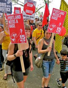 Portland's 15 Now campaign on the march