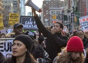 Over 50,000 people poured into the streets of Manhattan for the December 13 day of protests