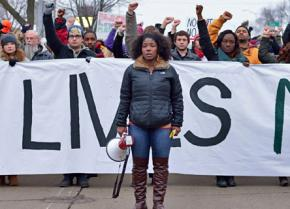 Madison demonstrators march in solidarity with Mike Brown and Eric Garner