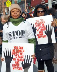 The Millions March NYC brought tens of thousands of determined activists together