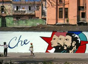 A mural near Museo de la Revolución in Havana