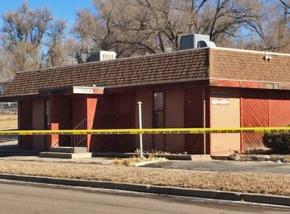 Colorado Springs NAACP office following the bombing