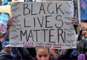 Black Lives Matter activists protest in New York City