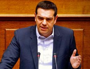 Prime Minister Alexis Tsipras presents SYRIZA's program in parliament
