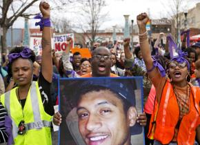 Atlanta marches for Anthony Hill