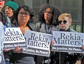 Chicagoans protest the acquittal of the police officer who murdered Rekia Boyd