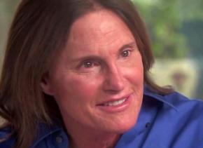 Bruce Jenner talking with Diane Sawyer