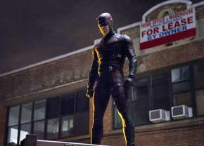 Daredevil tries to protect his neighborhood from corporate greed