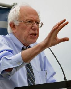 Vermont Sen. Bernie Sanders