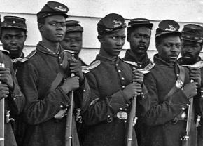 Black soldiers in the Union Army