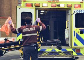 EMTs respond to a medical emergency
