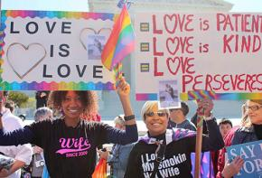 Celebrations of the Supreme Court's marriage equality ruling spread nationwide