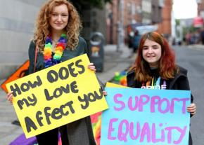 Campaigning for marriage equality in Ireland