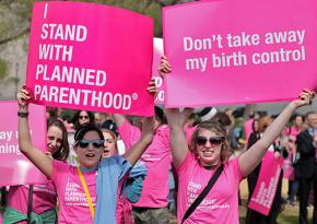 Rallying to the defense of Planned Parenthood