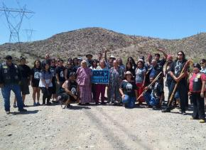Members of Apache Stronghold at Oak Flat