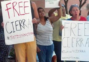 Demanding justice for Cierra Finkley