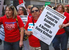 Chicago teachers rally for fully funded schools