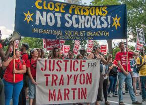 ISO members rally for justice at the 50th anniversary of the March on Washington