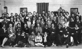 Participants in the Zimmerwald Conference in 1915
