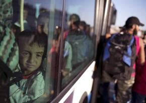 Children arrive in Europe to face an uncertain future