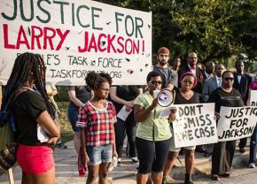 Austin activists rally to demand justice for Larry Jackson Jr.