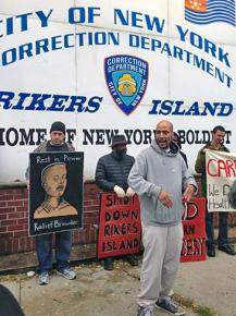 Protesting the death of Kalief Browder and other reasons to shut down Rikers Island