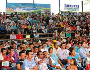 Rallying for Zonas de Reserva Campesina in Colombia