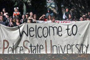 Students, faculty and staff, and the community are protesting the arming of Portland State University campus security