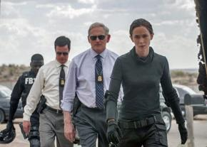 Emily Blunt (right) stars in Sicario