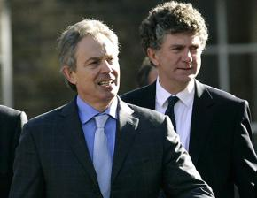 Tony Blair and Jonathan Powell