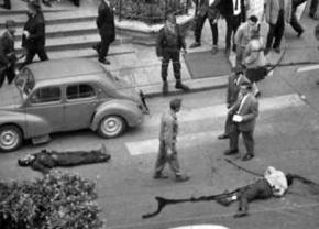 Two victims of the police massacre of Algerians in Paris in 1961